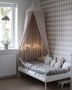 Powder lovely corner... Numero74 canopy and star cushions