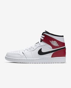 Air Jordan 1 Mid #nike #sneakers #trainers #shoes #mensshoes #mensfashin #trending #bestseller Jordan 1 Mid, Buy Shoes Online, Nike Air Force, Men's Shoes, Air Jordans, Fans, Sneakers Nike, Leather, Trainers
