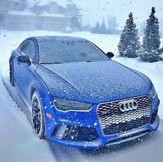 "843 Likes, 5 Comments - Audi RS Quattro Official (@audirs_official) on Instagram: ""Snowy RS7  Follow @luxwonder for more   @thebleuaudi"""