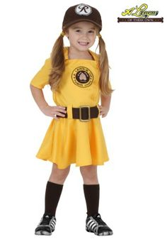 For Maddy to Wear http://images.halloweencostumes.com/products/28634/1-2/toddler-a-league-of-their-own-kit-costume.jpg