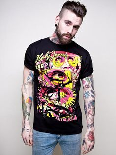 Disturbia have released the first part of their new collection of tees and vests. The collection is called 'Selected Poems' and features some really groovy designs. I especially enjoy this Fear and Loathing inspired badboy
