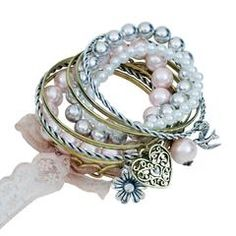 """Adorable bracelet set! Only $9.60 PLUS get 10% off & free shipping with discount code """"0209"""" at checkout!"""