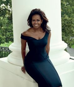 The beautiful First Lady of the United States, Michelle Obama.