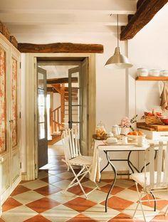 Charme: La splendida ristrutturazione di un antico casale in Spagna