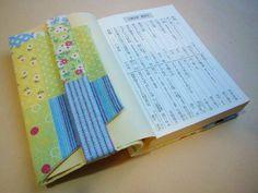 ブックカバー(作り方レシピ付き) Print Patterns, Coin Purse, Sewing, Cover, Fabric, Prints, House, Tejido, Dressmaking