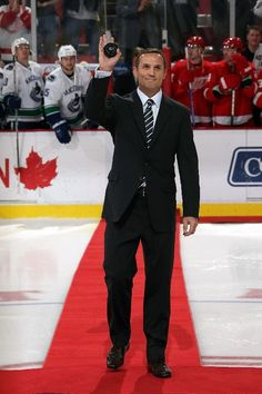 Steve Yzerman-GM Tampa Bay Lightning and will always be #19 in the hearts of Hockeytown fans!