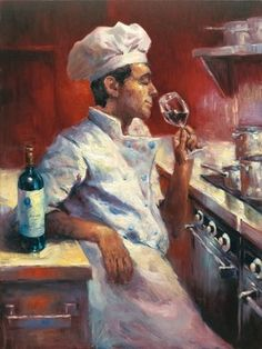 """Evening Indulgence"" by Christopher M. #foodie #art #food #chef"