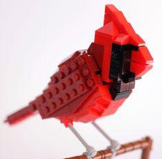 'LEGO birds' by tom poulsom.