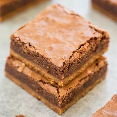 A soft and chewy peanut butter cookie base with a rich fudgy brownie top, what could be better. This is a special recipe for me to post not only because it involves peanut butter and chocolate, but because I got the recipe from one of my BFF's cookbooks, Dessert Mash-Ups. The recipe comes from Dorothy who …