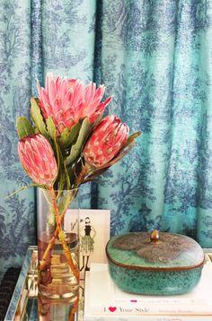 vintage tin, The Guild Shop, Little Green Notebook: Room Tours: Jenna's Rental Bedroom Redo