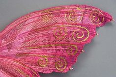 Make your own Textured Fairy Wings - Simple and amazing :)