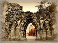 by Louise Bellin on flickr. Inchmahome Priory, The Lake of Menteith, Scotland.