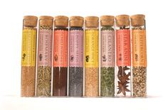 Spice sampler from Sheffield & Sons/Bloom grocery in Canada