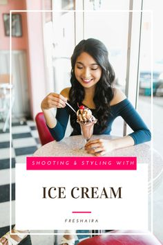 Invitation Pictures – Ice Cream Parlor - - Read to see what inspired the pictures, the photographer, and where we got the clothes from! 18th Debut Ideas, Filipino Debut, Debut Party, Fast Shutter Speed, Rock Star Party, Ice Cream Parlor, Wedding Cupcakes, Watercolor Wedding, How To Take Photos