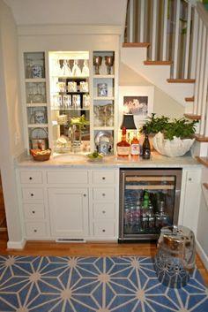 cuisine sous escalier, meubles sous escalier aménagement sous escalier                                                                                                                                                                                 Plus
