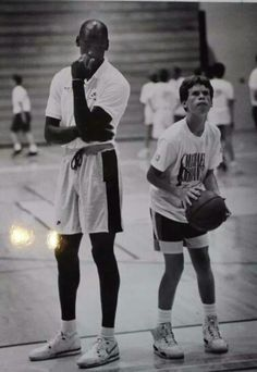 The GOAT at his basketball camp.