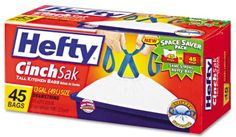 High-Value $1.50 Hefty Trash Bags Coupon Means $3.99 Boxes At Kmart & More!