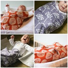 PDF pattern for baby swaddler, great for baby showers or gifts!