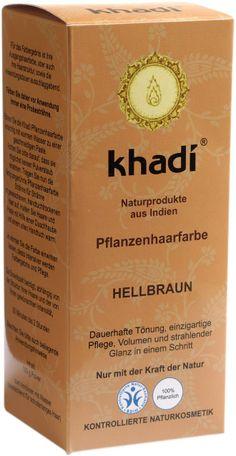 coloration des cheveux aux herbes chtain clair - Khadi Coloration