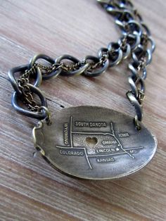 Nebraska Vintage Spoon Necklace with Heart Cutout by GeorginaBaker, $36.00