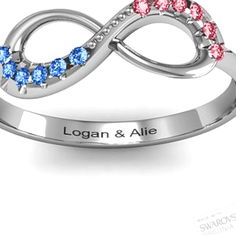 Birthstone ring :) but have date on there too