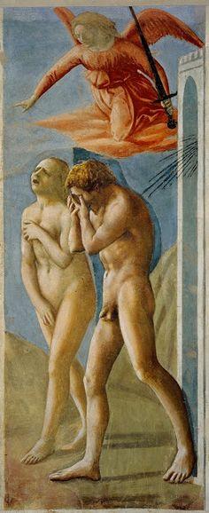 """""""Expulsão"""" - Masaccio"""