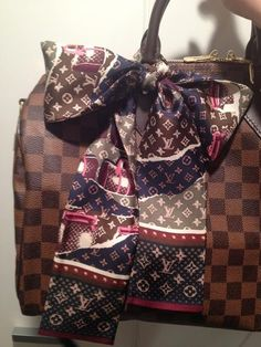 Louis Vuitton Scarf Bag #Louis #Vuitton #Scarf