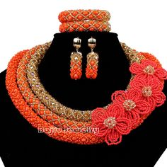 Cheap jewelry crimp beads, Buy Quality bead jewelry wholesale directly from China bead divider Suppliers: Crystal Flower handmade Perticular Seed Crystal necklace beads Multi color earrings nigerian wedding african beads jewe