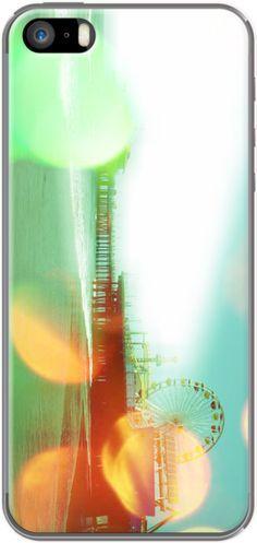 Santa Monica Pier Green Orange By stine1 for Apple iPhone 5 #theKase