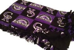 Hey, I found this really awesome Etsy listing at http://www.etsy.com/listing/103728443/colorado-rockies-blanket-mlb-baseball
