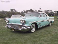 ❦ 1958 Pontiac Bonneville Convertible