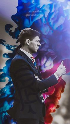 Steven Gerrard the Rangers manager