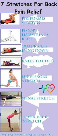 Sciatica Treatment: 7 Stretches For Back Pain Relief - Wellness Magazi...