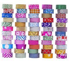 Rainbow Chevron ArtSkills Crafters Closet Tape Trendz Designer Duct Tape