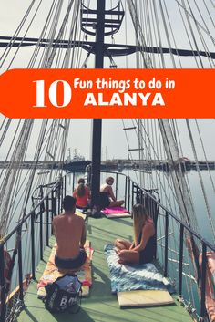 Pirate boat with real Jack Sparrow is one of the best things to do in Turkey, Alanya. Check out my other favorite activities!