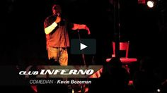 Kevin Bozeman (as seen on Last Comic Standing) performing  a set at Club Inferno…
