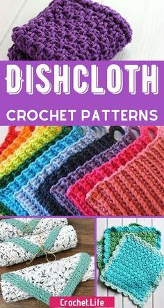 Filet Crochet, Quick Crochet, Crochet Amigurumi, Crochet Yarn, Dishcloth Crochet, Crochet Scrubbies, Crochet Hooks, Crochet Mandala, Crochet Afghans
