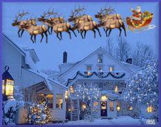Santa - Animated Myspace Graphics, Santa - Animated Myspace Comments, Santa - Animated Graphics For Myspace