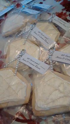 60th Diamond Anniversary Cookies