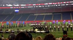 """The Boston Crusaders 2015, """"Conquest"""" at the East Coast Classic at Gille..."""
