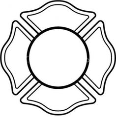 Clip Art Maltese Cross Fireman Quilt Cake Party Firefighter