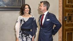 Princess Mary & Prince Frederik attends a banquet in Munich