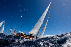 Lovely shot. #StBarthsBucket #regatta #superyacht Photography Cory Silken