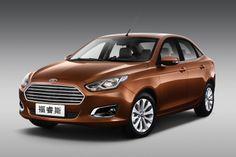 India Bound Ford Escort Showcased at 2014 Auto China.   #CarDekho   #FordEscort  #Ford