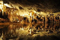 Photos of gorgeous views of Luray caverns and Shenandoah Caverns in Virginia and coloful autumn foliage on mountains near Great Smoky National Park in Tennessee. Antalya, Luray Caverns Virginia, Luray Virginia, Virginia Usa, Virginia Beach, Virginia Is For Lovers, Shenandoah Valley, Shenandoah Caverns, Excursion