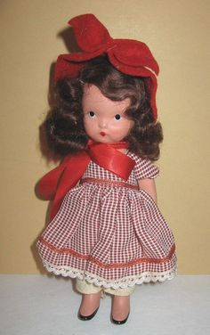 Vintage Bisque Nancy Ann Doll #120 To Market To Market  Storybook Collection #NancyAnn #Dolls