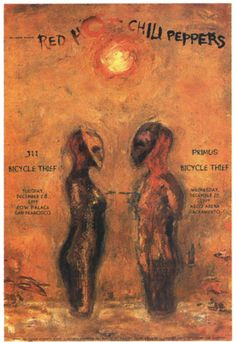 Concert Poster for Bill Graham Presents, 2000