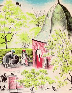 City Springtime by my vintage book collection (in blog form), via Flickr