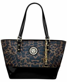 """Anne Klein Handbag, Present Time Medium Tote - Handbags & Accessories - Macy's Very versatile colors! Could be a """"go to"""" winter bag!"""