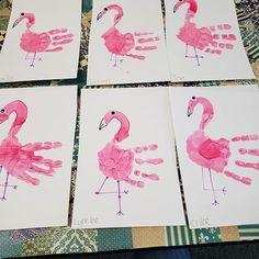 A Flamboyance of Flamingos! www.teachingpeaches.com Preschool Centers, Preschool Art, Creative Curriculum, Homeschool Curriculum, Fun Crafts, Crafts For Kids, Pre K Activities, Early Childhood Education, Summer Fun